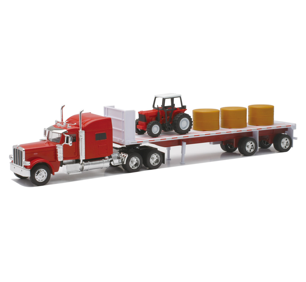 Toy Tractor Trailer Trucks : Peterbilt toy trucks and trailers wow