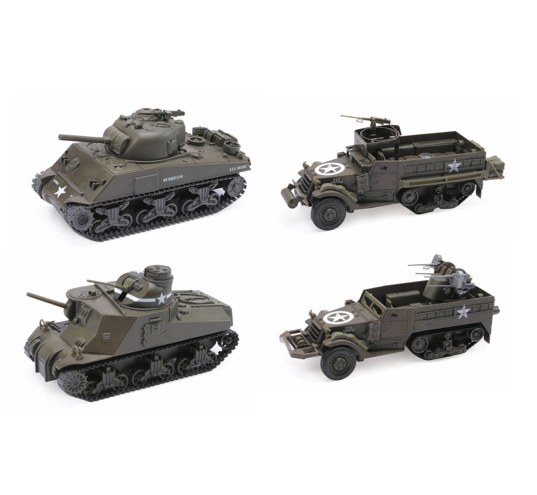 1 32 Scale Classic Tank Model Kit New Ray Toys Ca Inc
