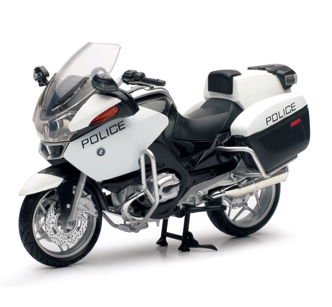 1 12 Scale Bmw R1200rt P Police Bike New Ray Toys Ca Inc
