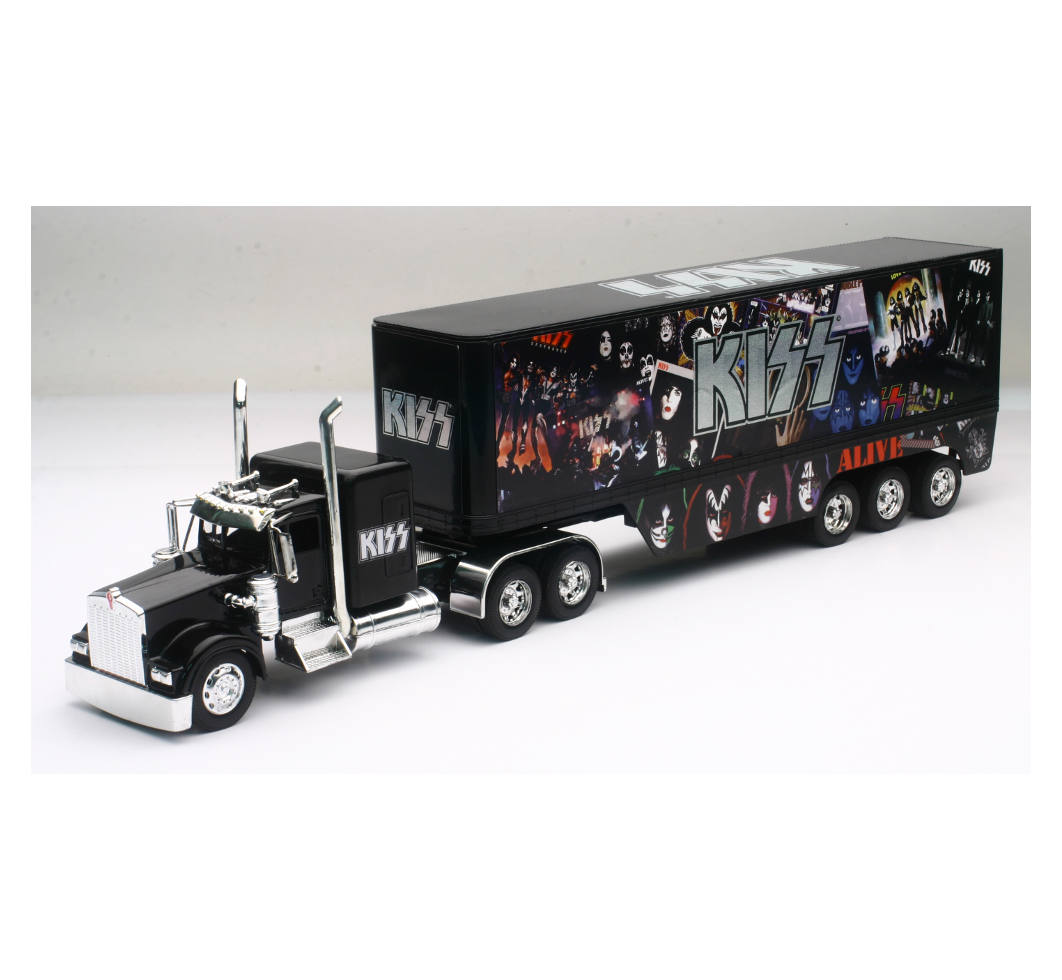 1 32 Scale Kenworth W900 Kiss Rock N Roll Truck